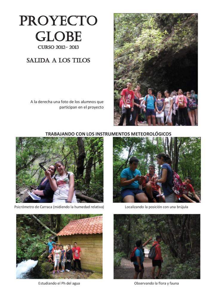salida a los tilos curso 2012-20131