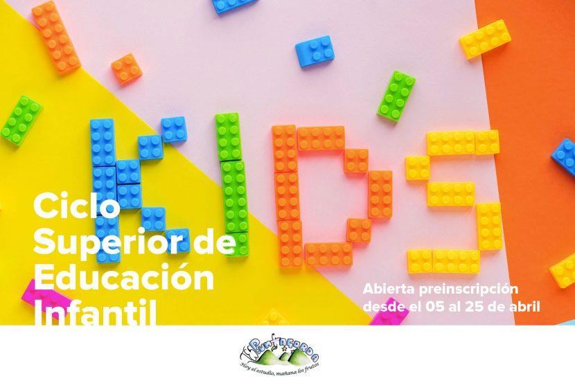 CICLO SUPERIOR EDUCACIÓN INFANTIL