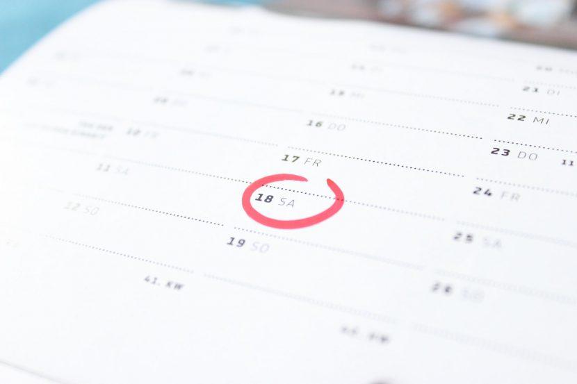 Consulta el calendario de exámenes de septiembre 2018 y las orientaciones